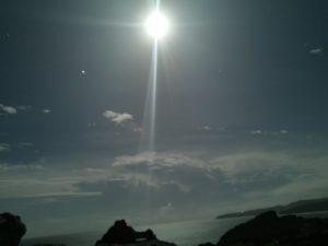 辺戸岬の夜景